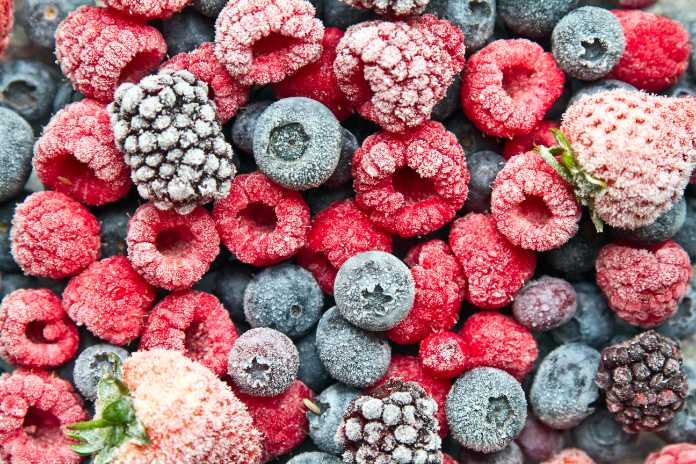 Expensive food alternatives frozen berries