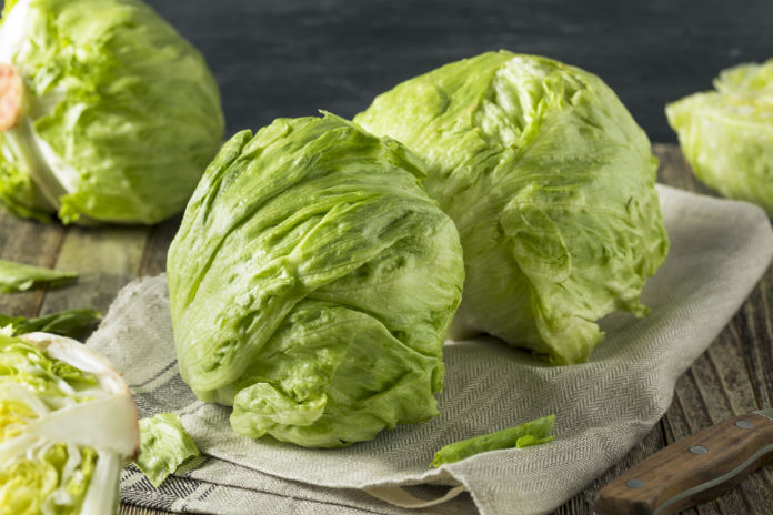 Expensive food swaps cheap iceberg lettuce