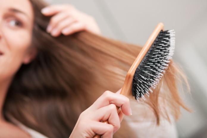 Hair washing tips brush hair first