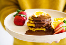 Nexba Kombucha pancakes