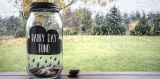 Rainy day savings guide