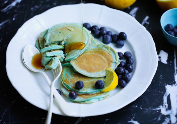 Nexba Kombucha Super Blue Pancakes