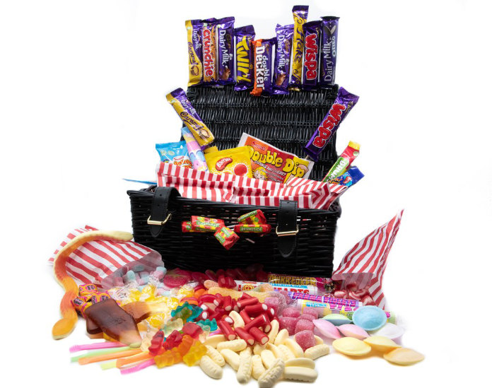 Large sweet hamper by The Awesome Hamper Company