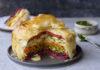 Vegan Easter Rainbow Pie