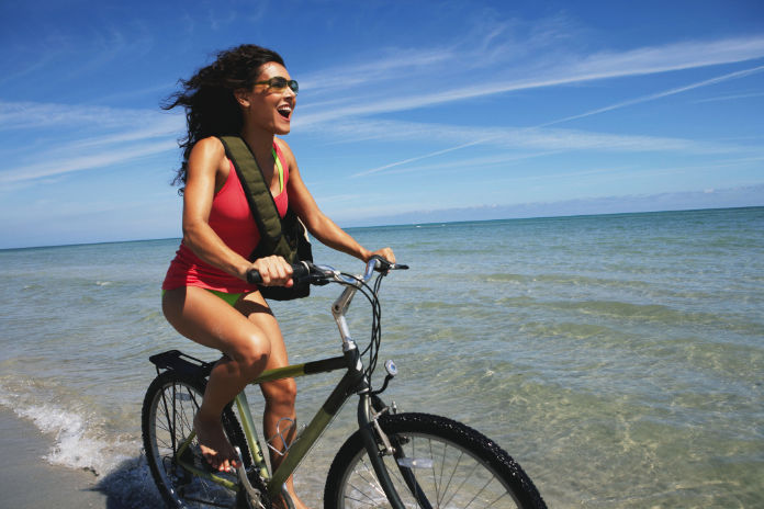 Cycling is a good form of exercise for those with pelvic floor issues.