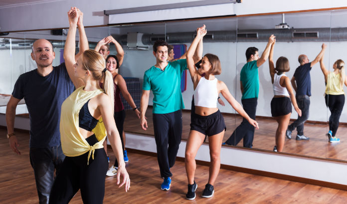 Dancing can be a good form of exercise