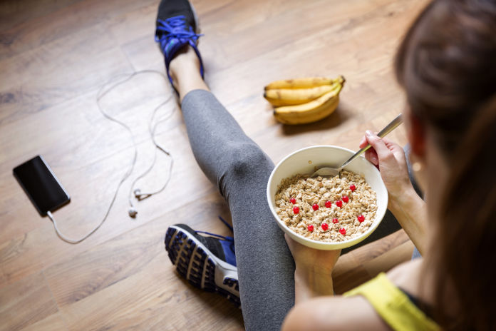 You should always fuel up before any competitive exercise