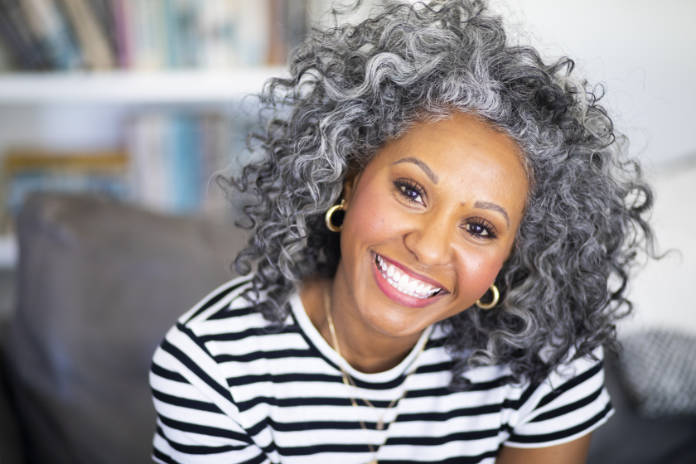 Stop grey hair from drying out with regular hair masks and treatments