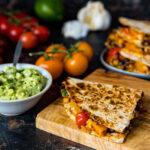 IOW Tomato and Bean Quesadillas