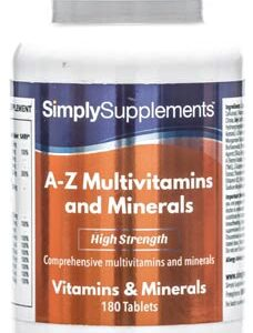A Z Multivitamins Minerals (120 Tablets)