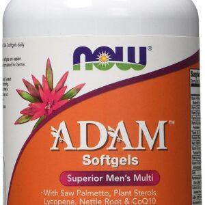 ADAM Superior Mens Multiple Vitamin - 90 Softgels Vitamins & Minerals NOW Foods