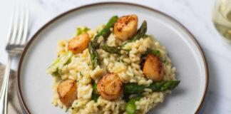 Asparagus & Scallop Risotto
