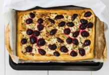 Spicy Beetroot & Goats Cheese Tart 2