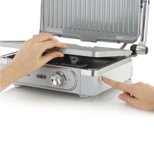 Breville DuraCeramic Grill - Stainless Steel