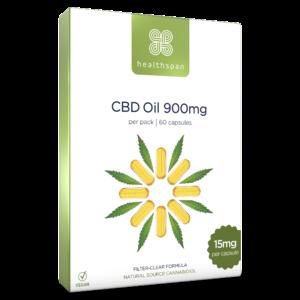 CBD Oil Capsules 450mg to 900mg - 2 x 30 capsules