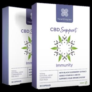 CBD Support Immunity - 60 capsules