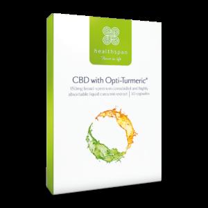 CBD with Opti-Turmeric - 30 capsules