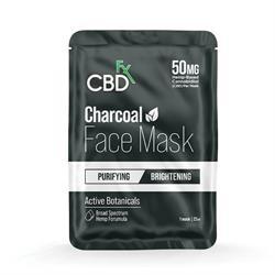 CBDfx CBD Face Mask Charcoal 50mg 22ml 22ml