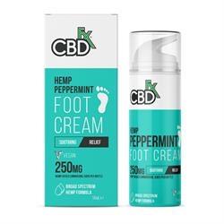CBDfx CBD FootCream Peppermint 200mg 50ml 50ml