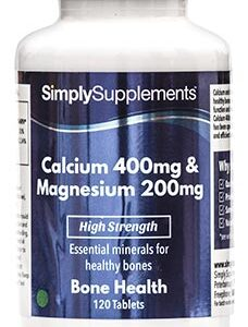 Calcium 400mg Magnesium 200mg (120 Tablets)