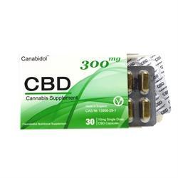 Canabidol CBD Capsules 300mg 30 capsule 30 capsule