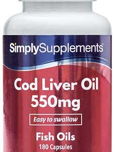 Cod Liver Oil 550mg (360 Capsules)