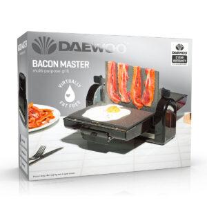 Daewoo SDA1559 Bacon Master 900W Grill - Black