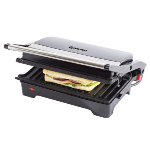 Daewoo SDA1572 180 1200W Health Grill - Stainless Steel and Black