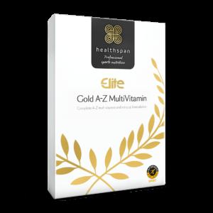 Elite Gold A-Z Multivitamin - 120 tablets