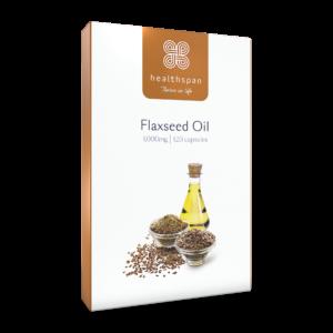 Flaxseed Oil 1,000mg - 120 capsules