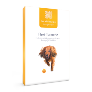 Flexi-Turmeric For Dogs - 120 tablets