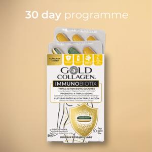 GOLD COLLAGEN® IMMUNOBIOTIX 30 Day - Your immunity starts here