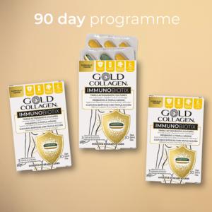 GOLD COLLAGEN® IMMUNOBIOTIX 90 Day - Your immunity starts here