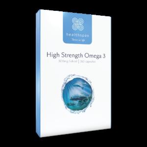 High Strength Omega 3 500mg - 360 capsules