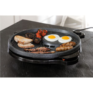 JML V10100 Grill Circle Tabletop Grill - Black