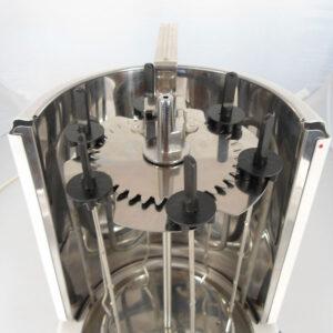 Jocca 5014U 1400W Vertical Rotisserie Grill - Silver
