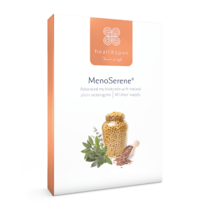 Menoserene - Soy Isoflavones, Flaxseed & Sage - 60 day supply
