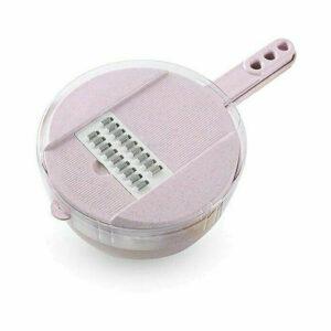 Multifunctional 9-In-1 Easy Food Chopper Pink