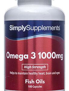 Omega 3 1000mg (120 Capsules)