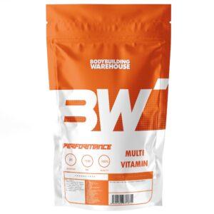 Performance Multi-Vitamin Tablets - 60 Tabs Vitamins & Minerals Bodybuilding Warehouse