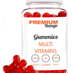 Premium Multi-Vitamin - 30 Gummies (red round gummies) BB Feb-20 Bodybuilding Warehouse
