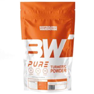 Pure Turmeric Powder - 250g Joint Health Bodybuilding Warehouse