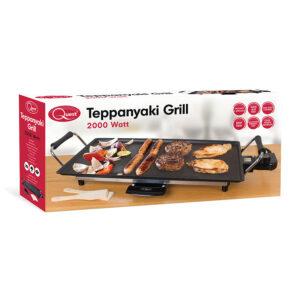 Quest 35490 2000W Electric Teppanyaki Grill -Black