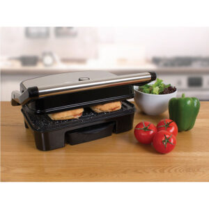 Quest 35600 Deluxe 1500W Health Grill - Black Marble