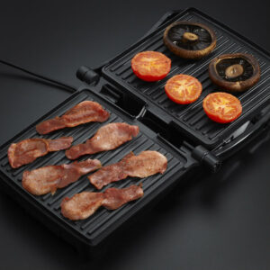 Russell Hobbs 17888 3-in-1 Panini, Grill and Griddle - Silver/Black