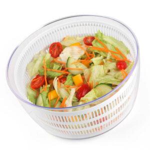 Salter Salad Spinner and Press Chopper Set - White/Green
