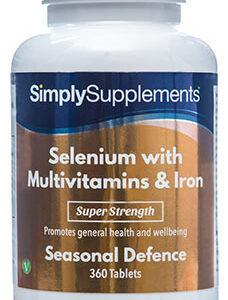 Selenium 220mcg Multivitamins Iron (360 Tablets)