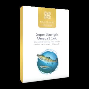 Super Strength Omega 3 Gold - 60 capsules