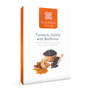 Turmeric 10,000 With Bioperine Black Pepper Extract - 60 tablets