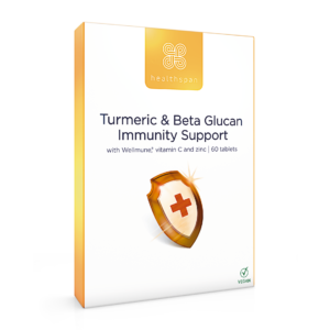 Turmeric & Beta Glucan Immunity Support - 60 tablets